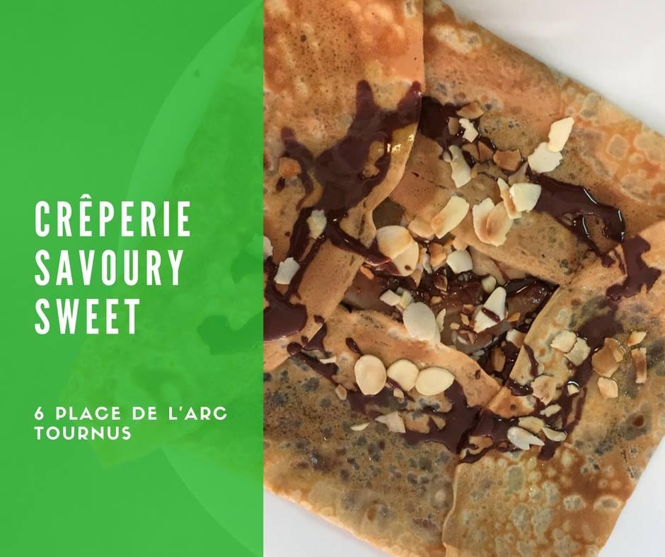 Crêperie Savoury Sweet